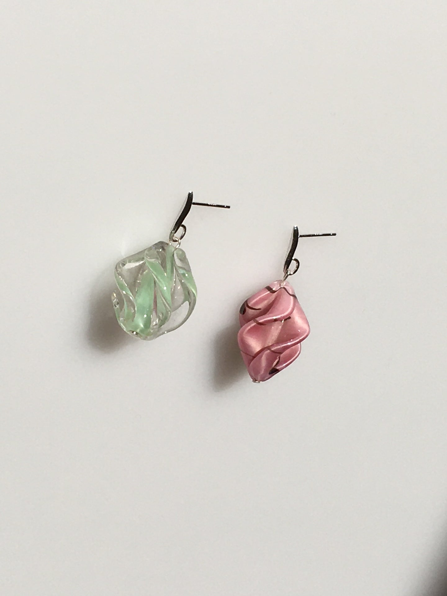Foulard earrings - Mismatched