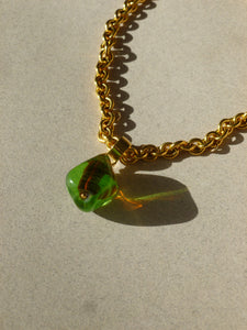 Jodi necklace - Green