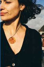 Load image into Gallery viewer, New Ovella Necklace - Amber and grey
