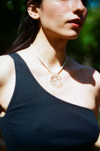 Load image into Gallery viewer, New Ovella Necklace - Transparent and white