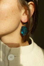 Load image into Gallery viewer, Boucles d'oreilles Lili Turquoise