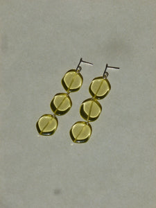 Agnès earrings - Yellow