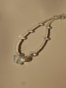 Corolle necklace - Transparent