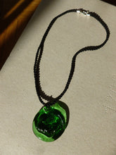 Load image into Gallery viewer, Ram Necklace / Green and black