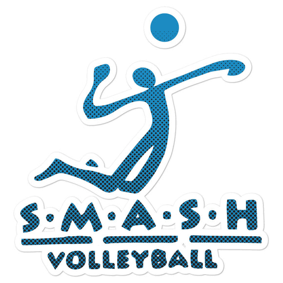 SMASH Sticker Blue