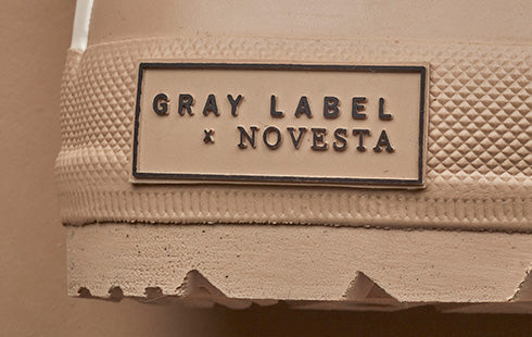 Newest collab: Gray Label x Novesta