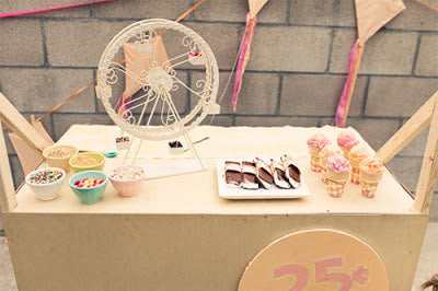 VINTAGE ICE CREAM PARTY