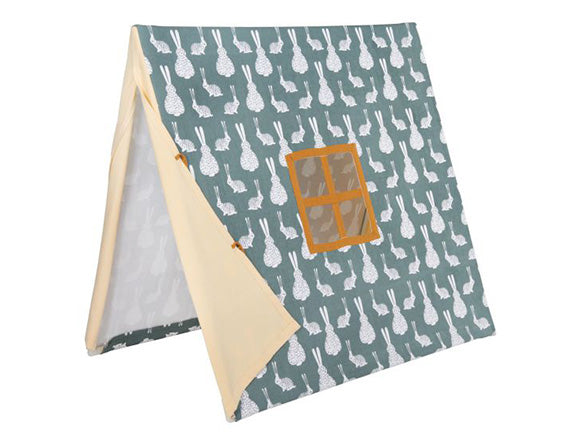 Fabric Tent Gray Label