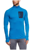 Mens Merino 280 Zip Neck Top