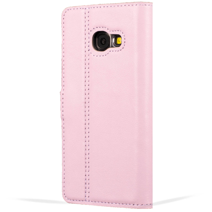 Blush Pastel Leather Case - Samsung Galaxy A3 (2017) - Snakehive