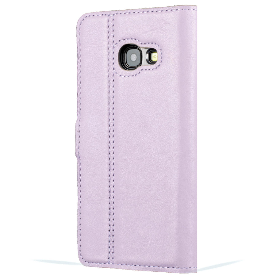 Lilac Pastel Leather Case - Samsung Galaxy A3 (2017) - Snakehive