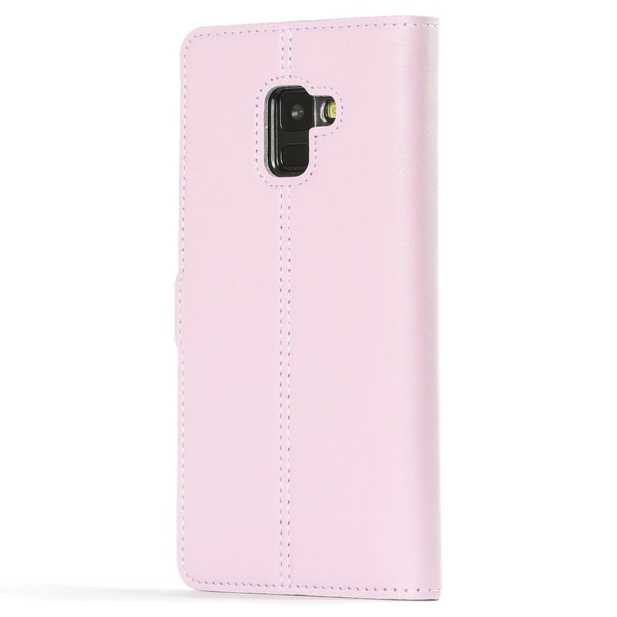 Blush Pastel Leather Case - Samsung Galaxy A8 Plus (2018) - Snakehive