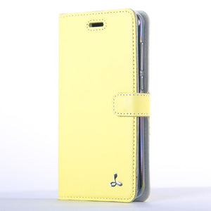 Lemon Pastel Leather Case - Huawei P8 Lite (2017) - Snakehive