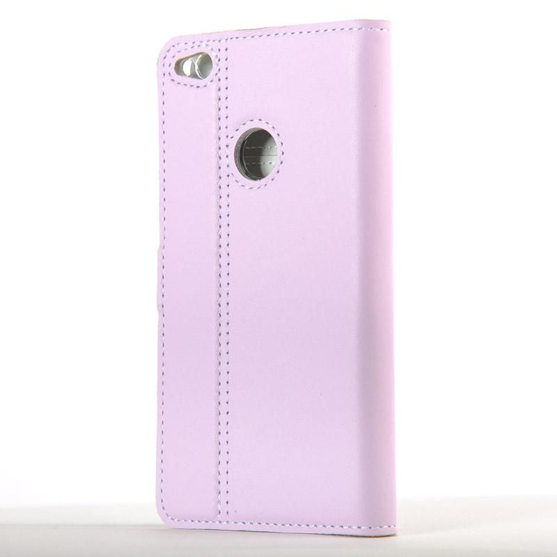 Lilac Pastel Leather Case - Huawei P8 Lite (2017) - Snakehive