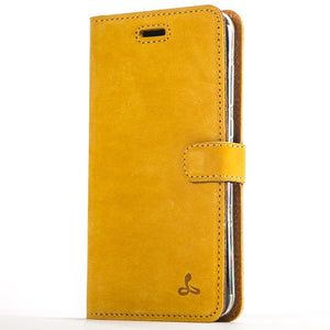 Vintage Honey Gold Leather Wallet - Huawei P8 Lite (2017) - Snakehive