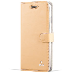 Peach Pastel Leather Case - Samsung Galaxy A3 (2017) - Snakehive