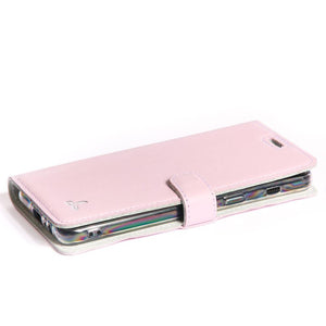 Blush Pastel Leather Case - Samsung Galaxy A8 (2018) - Snakehive