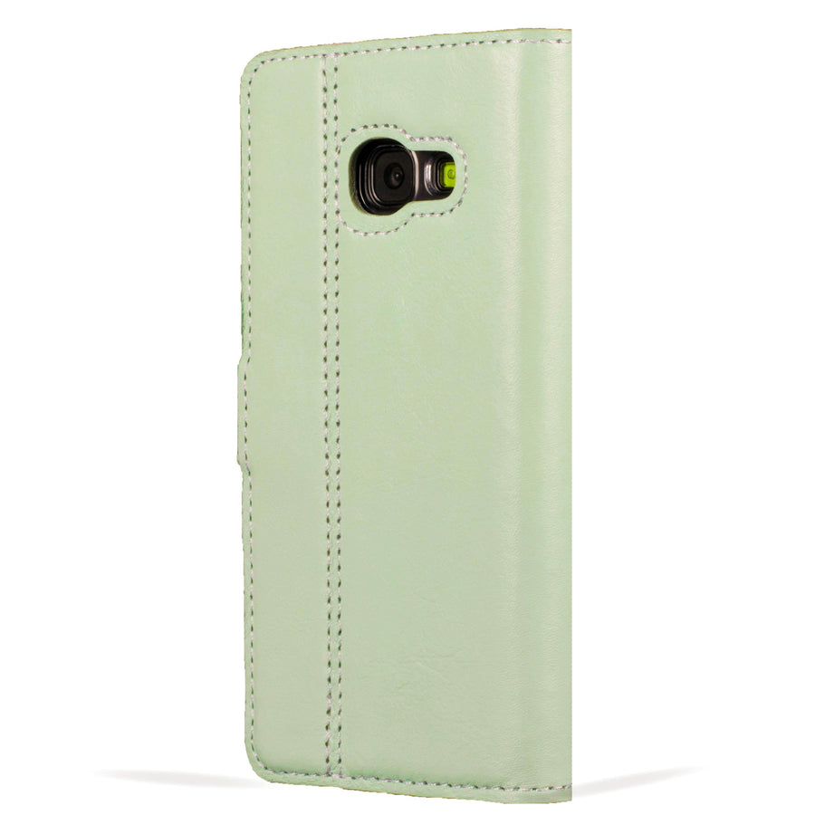 Mint Green Pastel Leather Case - Samsung Galaxy A3 (2017) - Snakehive