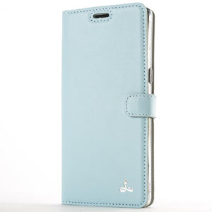 Sky Blue Pastel Leather Case - Samsung Galaxy Note 8 - Snakehive