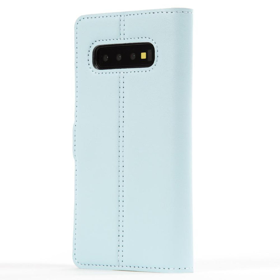Leather Case Sky Blue Pastel - Samsung Galaxy S10 Plus