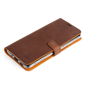 Vintage Leather Case Chestnut Brown - Samsung Galaxy S20 Ultra