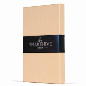 Vintage Black Leather Wallet - Apple iPhone 7 - Snakehive