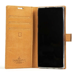 Vintage Leather Case Green - Samsung Galaxy Note 10
