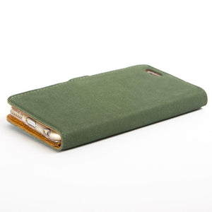 Vintage Bottle Green Leather Wallet - Apple iPhone 6/6s - Snakehive