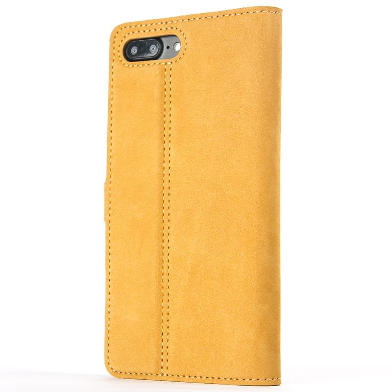 Vintage Honey Gold Leather Wallet - Apple iPhone 8 Plus - Snakehive