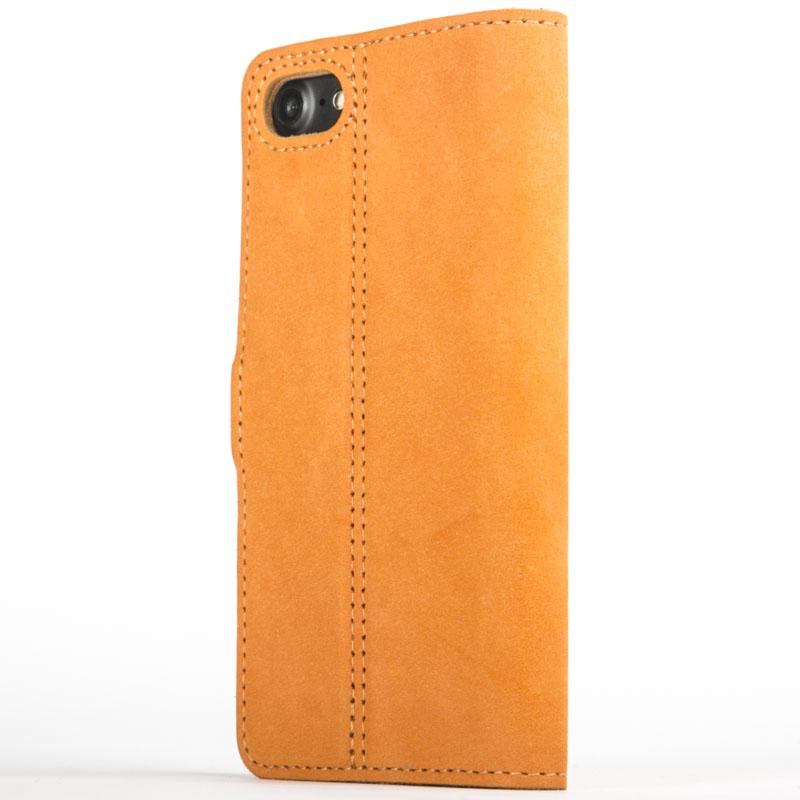 Vintage Burnt Orange Leather Wallet - Apple iPhone 7 - Snakehive