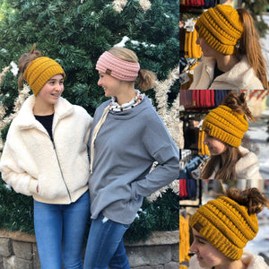 5 Ways to Wear the Beanie Tail Hat and Headband