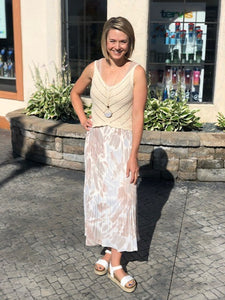 What is a slip skirt and how do you style it?