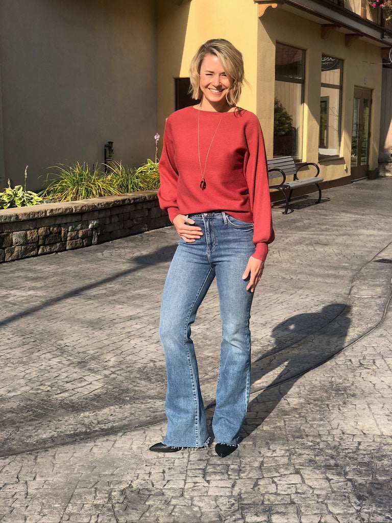 Yes! Flare Jeans are Back!