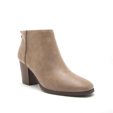 Taupe Crinkle Boot