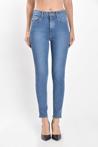 Super Skinny Medium Wash Jeans