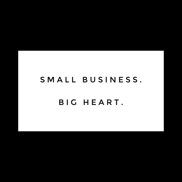 Shop Local & Support Small