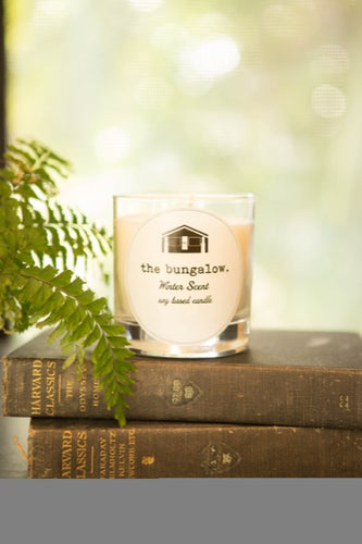 The Bungalow Winter Candle