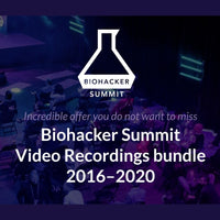 Biohacker Summit Video Recordings bundle 2016-2020 - Biohacker's Online Store