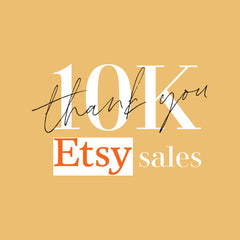 AshburyCoCo surpassed 10,000th Etsy sales in 2020, within 4 years after launching in Etsy.