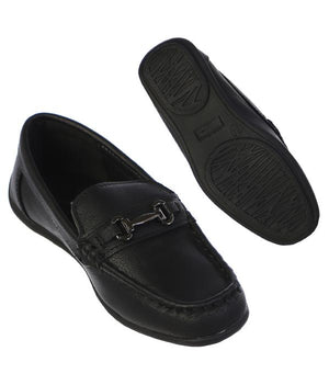 Faux Leather Loafer Shoes 6T-8Y
