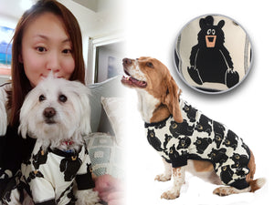 Dog Onesie Flapjack: Family Bear