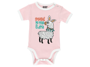 Infant Cotton Onesie Llama 6-18m
