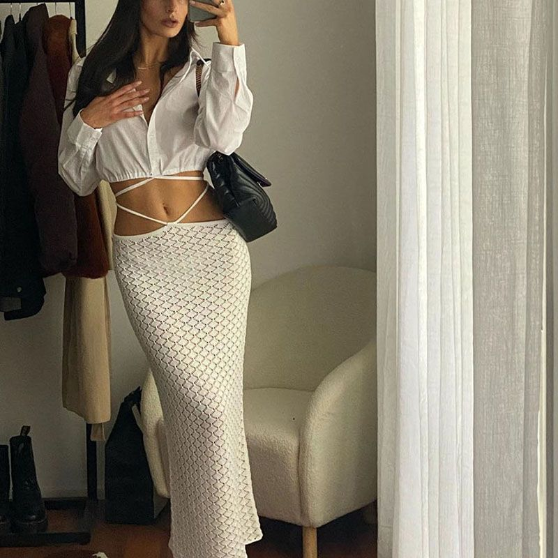 Sexy Slip Semi Sheer Ruched Bodycon Sundress