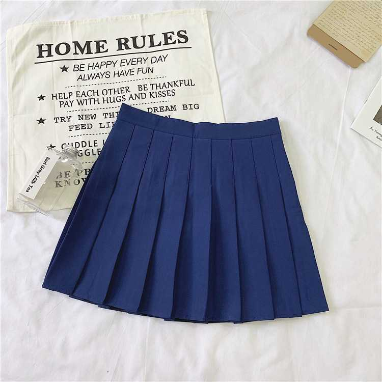 All Match Slimming A line Pleated Tennis Skirt