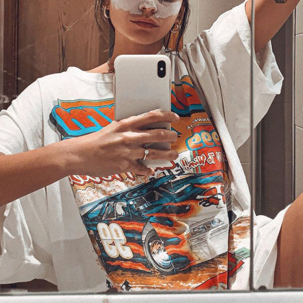 Cool Oversized Graphic Tee Shirts For Women