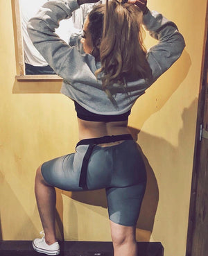 Athletic Spandex Sport Shorts Tight Running Gym Shorts