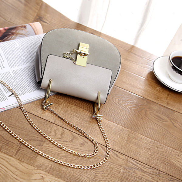 Designer Textured Faux Leather Small Shoulder Bag For Women