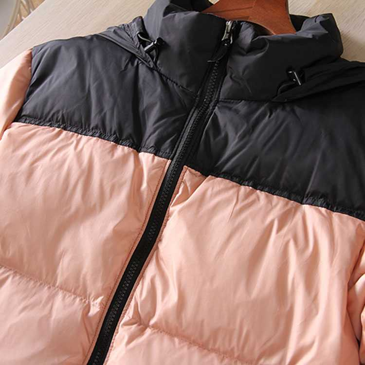 Packable Color Block Boxy Warmest Padded Down Puffer Jacket