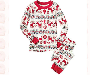 Family Christmas Pajamas Holiday Home PJS Home Suit