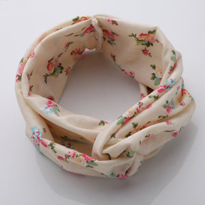 Bohemian Floral Tie Knot Hair Bands For Women